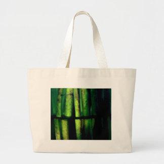 Macro verde bolso de tela gigante