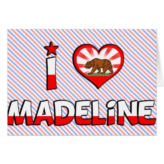 Madeline, CA Tarjeta De Felicitación