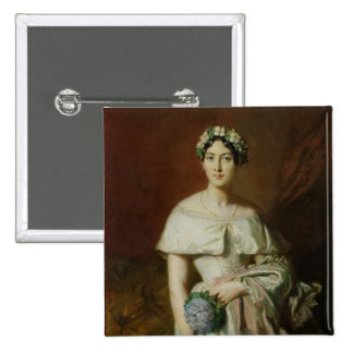 Mademoiselle Marie-Teresa de Cabarrus, 1848 Chapa Cuadrada
