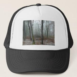 Madera brumosa gorra de camionero