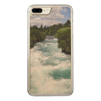 madera delgada más del arce del iPhone 6 Funda Para iPhone 8 Plus/7 Plus De Carved