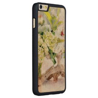 Madera delgada más del iPhone 6 de Bella Watercolo Funda De Arce Para iPhone 6 Plus De Carved