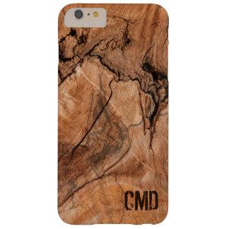 Madera dura moderna de la naturaleza funda barely there iPhone 6 plus