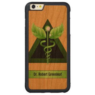 Madera médica verde de la medicina alternativa del
