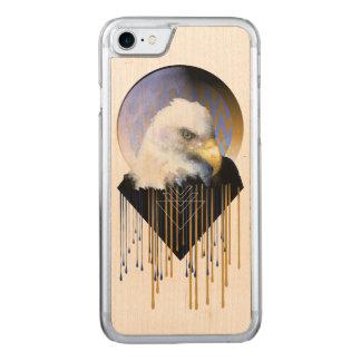 Madera sabia de Eagle iPhone6 Funda Para iPhone 8/7 De Carved