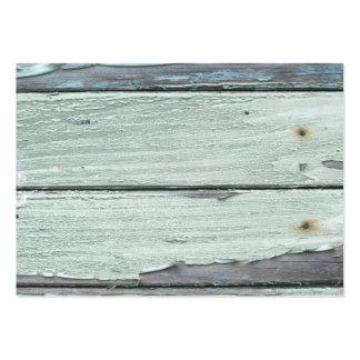 madera tarjetas de visita grandes