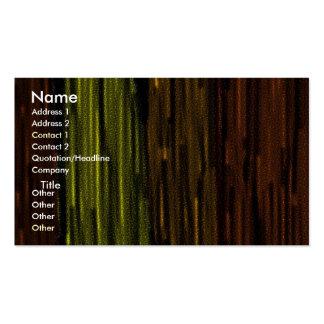 madera tarjetas de visita