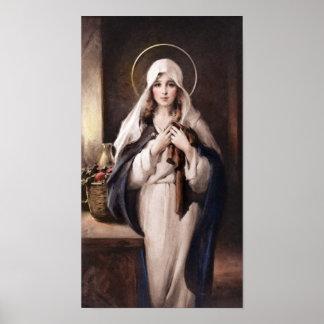 Madonna de la impresión sagrada de la capa - cámar
