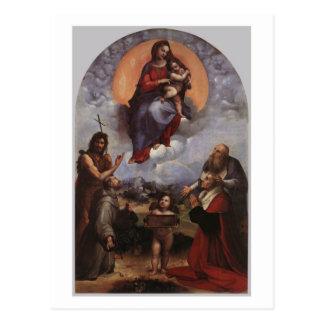 Madonna de la postal de Foligno