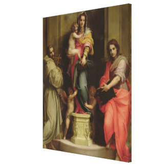 Madonna de los Harpies, 1517 (aceite en el panel) Impresión En Lienzo