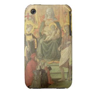 Madonna del Ceppo, 1453 (y detalle 62016) Case-Mate iPhone 3 Cárcasa