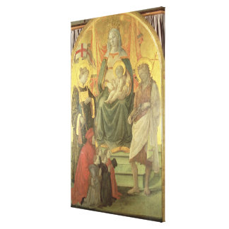 Madonna del Ceppo 1453 y detalle 62016 Impresion De Lienzo