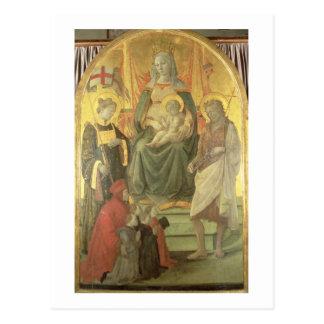 Madonna del Ceppo, 1453 (y detalle 62016) Postal