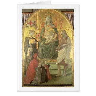 Madonna del Ceppo, 1453 (y detalle 62016) Tarjetón