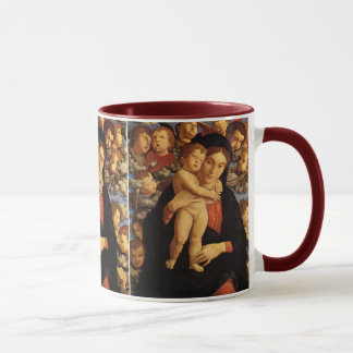 Madonna del Cherubim de Andrea Mantegna Taza