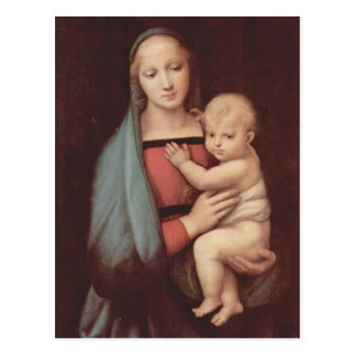 Madonna Del Granduca por Raphael Tarjetas Postales