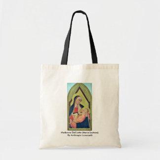 Madonna Del Latte (Maria Lactans) Bolsa Tela Barata