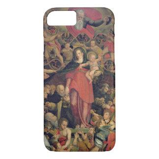 Madonna del rosario, c.1569 (aceite en lona) funda iPhone 7