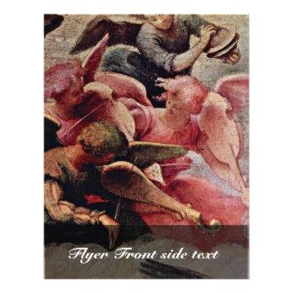 Madonna Enthroned con ángeles y santos dejados: St Tarjeton