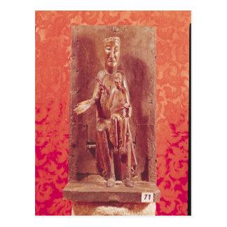 Madonna negro escuela catalana siglo XI Postal