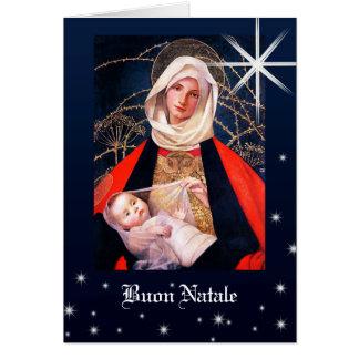 Madonna por las tarjetas de Navidad de Marianne