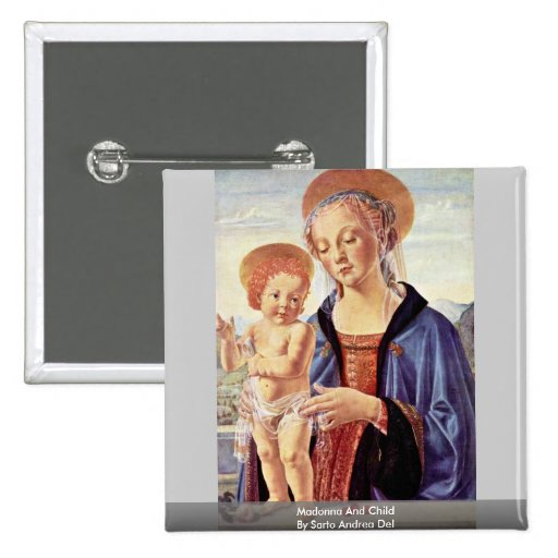 Madonna y niño de Sarto Andrea Del Pin