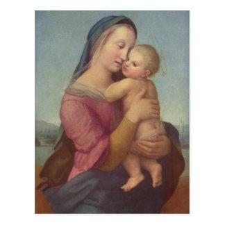 Madonna y niño (los tempos Madonna) por Raphael Postal