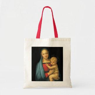 Madonna y niño, Madonna del Granduca por Raphael Bolsa Tela Barata