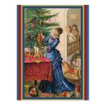 Madre comercial de la tarjeta del Victorian que