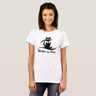 Madre de gatos camiseta