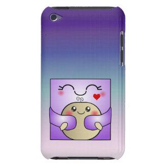 Madre de Kawaii y abrazo lindo del niño iPod Touch Carcasa
