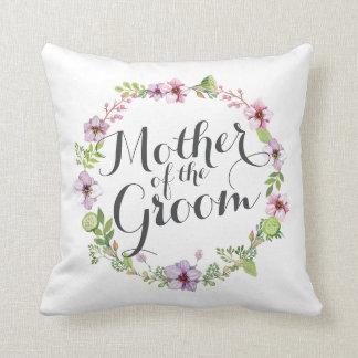 Madre de la almohada elegante del boda de la