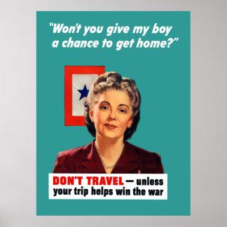 Madre de la estrella azul -- Frontera Poster