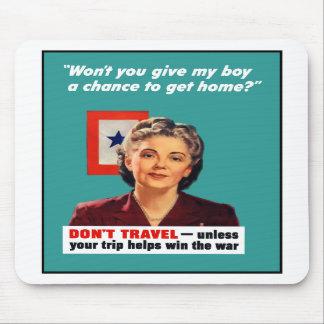 Madre de la estrella azul -- Segunda Guerra Mundia Alfombrilla De Raton