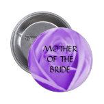 Madre de la NOVIA - la lavanda subió el botón Pin