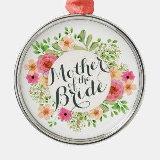 Madre de la novia que casa el ornamento del |