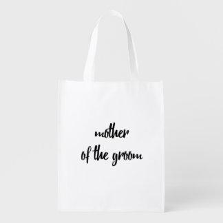 Madre del bolso reutilizable del novio - boda