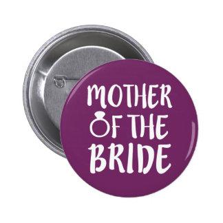 Madre del botón de la novia
