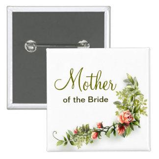madre del botón del boda de la novia