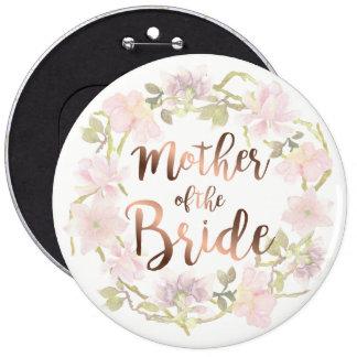 Madre del botón floral de la novia