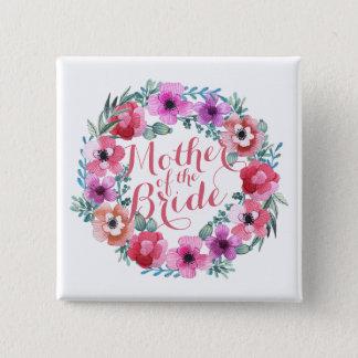 Madre del botón floral elegante del boda de la