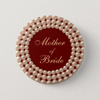 Madre del botón Jeweled perla de la novia