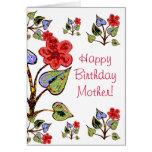 ¡Madre del feliz cumpleaños! Felicitación