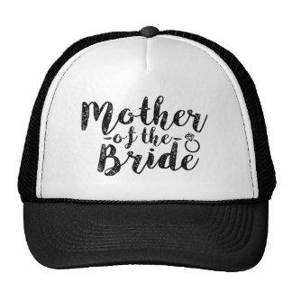 Madre del gorra de las mujeres de la novia