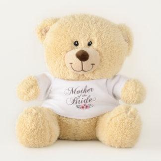 Madre del oso de peluche elegante del boda de la