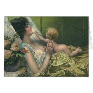 Madre del Victorian y nueva tarjeta del día de mad