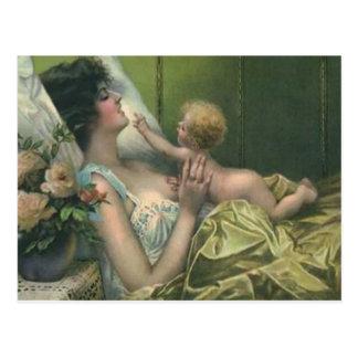 Madre del Victorian y nueva tarjeta del día de Postal