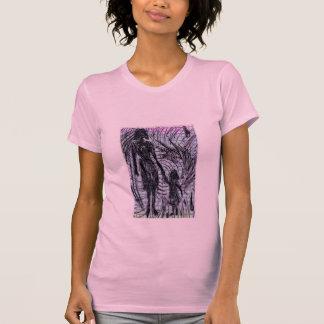 Madre e hija (coloreadas) camisetas