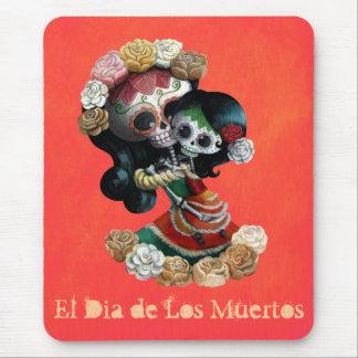 Madre e hija de Catrinas del mexicano Tapete De Ratón