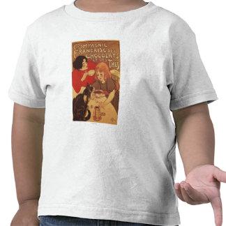 Madre e hija del Co del chocolate y del té Camiseta